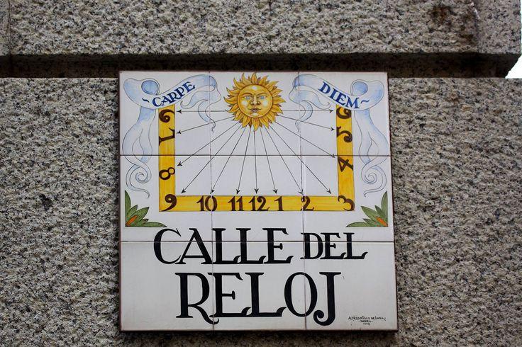 Calle Del Reloj (Madrid)