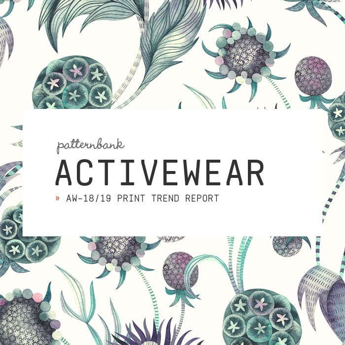 Activewear Print & Pattern Trend Report – Autumn/Winter 2018/19