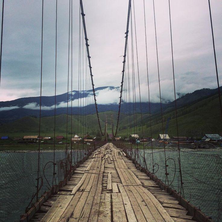 Тюнгурский #мост страшен!