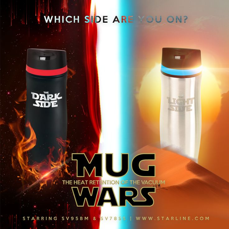 The Dark Side or the Light Side...Which side will you choose.