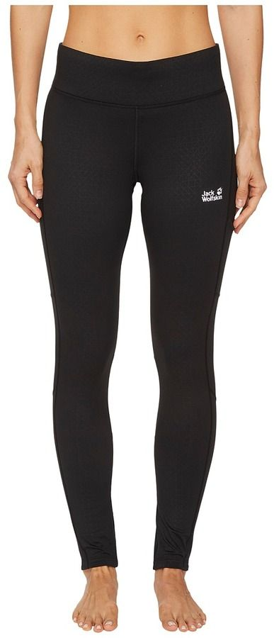 Jack Wolfskin Athletic Winter Tights Women's Casual Pants