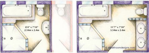 58 new Ideas bathroom layout 5x10 (With images) | Small ...
