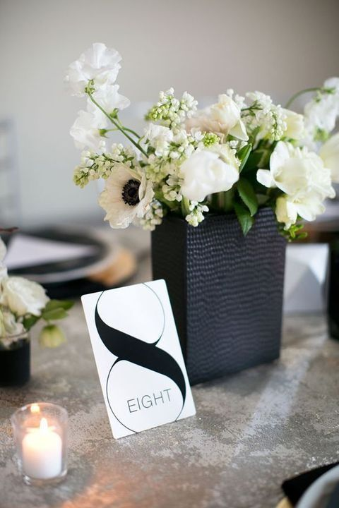 42 Chic Modern Wedding Decor Ideas | HappyWedd.com