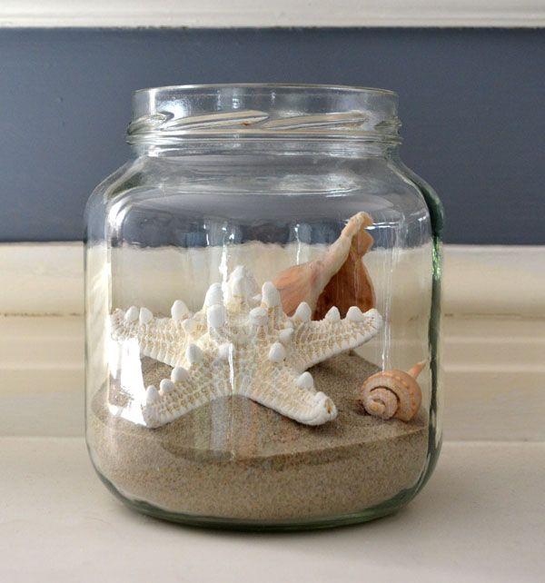 Beach Wedding Ideas Mason Jars: 25+ Unique Beach Jar Ideas On Pinterest