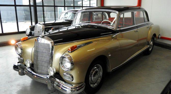 Mercedes 300 d Automatic Adenauer W189 1962 - 299000 PLN - Stale - Giełda klasyków