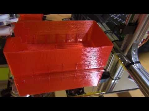 3D printing ( My largest print to date) - YouTube