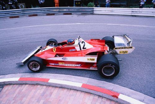 Gilles Villeneuve Monaco 1978