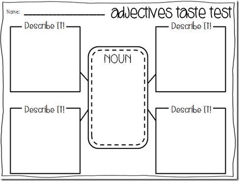 fun adjective writing activities