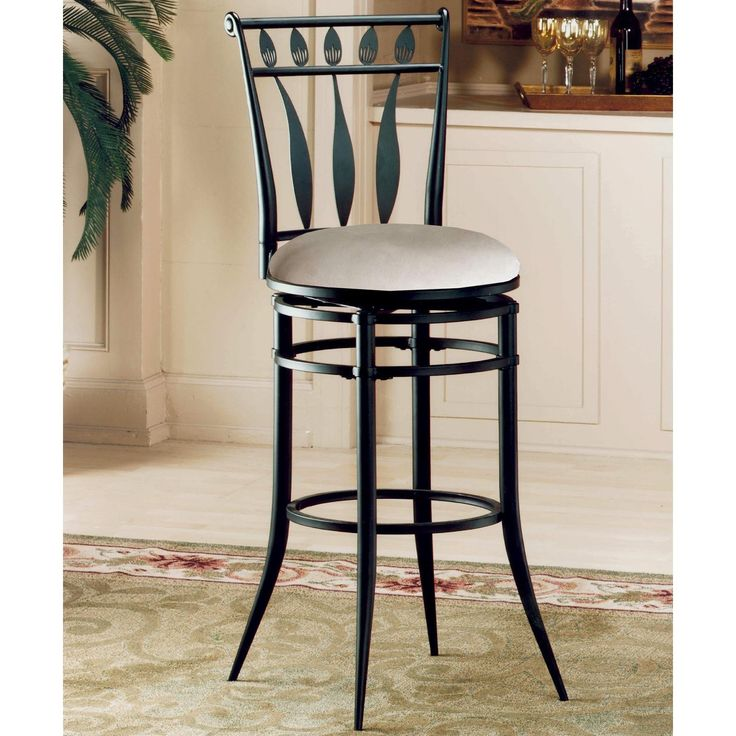Swivel Counter Stool Bar Stool High Chair Black Kitchen: Best 25+ Wrought Iron Bar Stools Ideas On Pinterest