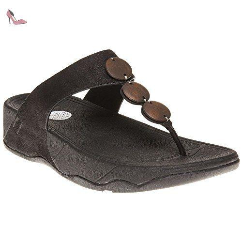 d3a9e9bde45177 FitFlop Rola Sandales Noirs UK65 Noir Chaussures Tamaris bleu marine ...