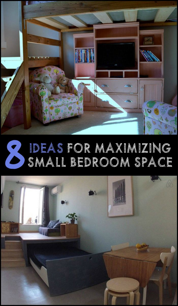 8 ideas for maximizing small bedroom space