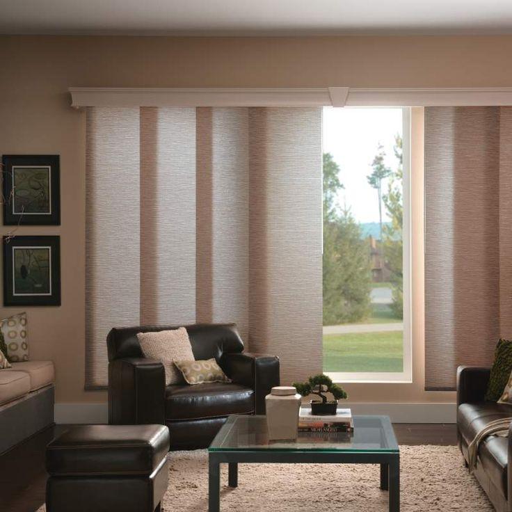 17 best ideas about sliding panel blinds on pinterest sliding door curtains patio blinds and. Black Bedroom Furniture Sets. Home Design Ideas
