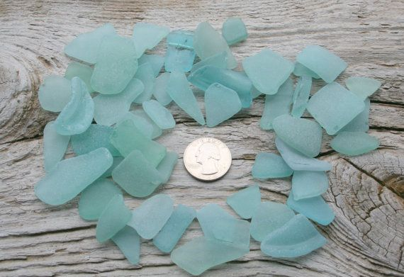 Bulk Sea Glass For Sale Light Blue Sea by BalticBeachTreasures