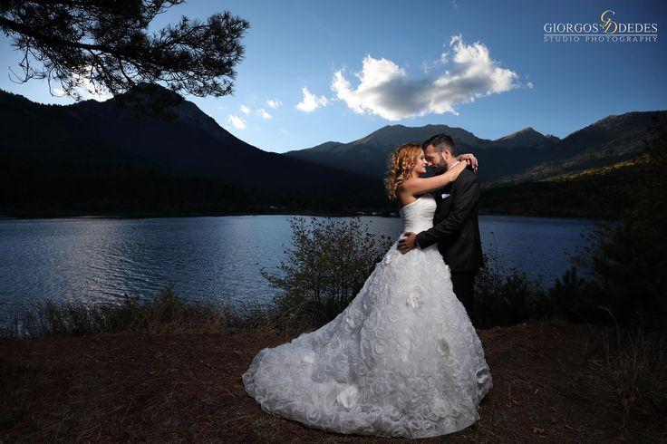 Φωτογράφιση γάμου στη λίμνη Δόξα