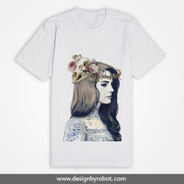 Lana Del Rey Tattoo Shirt