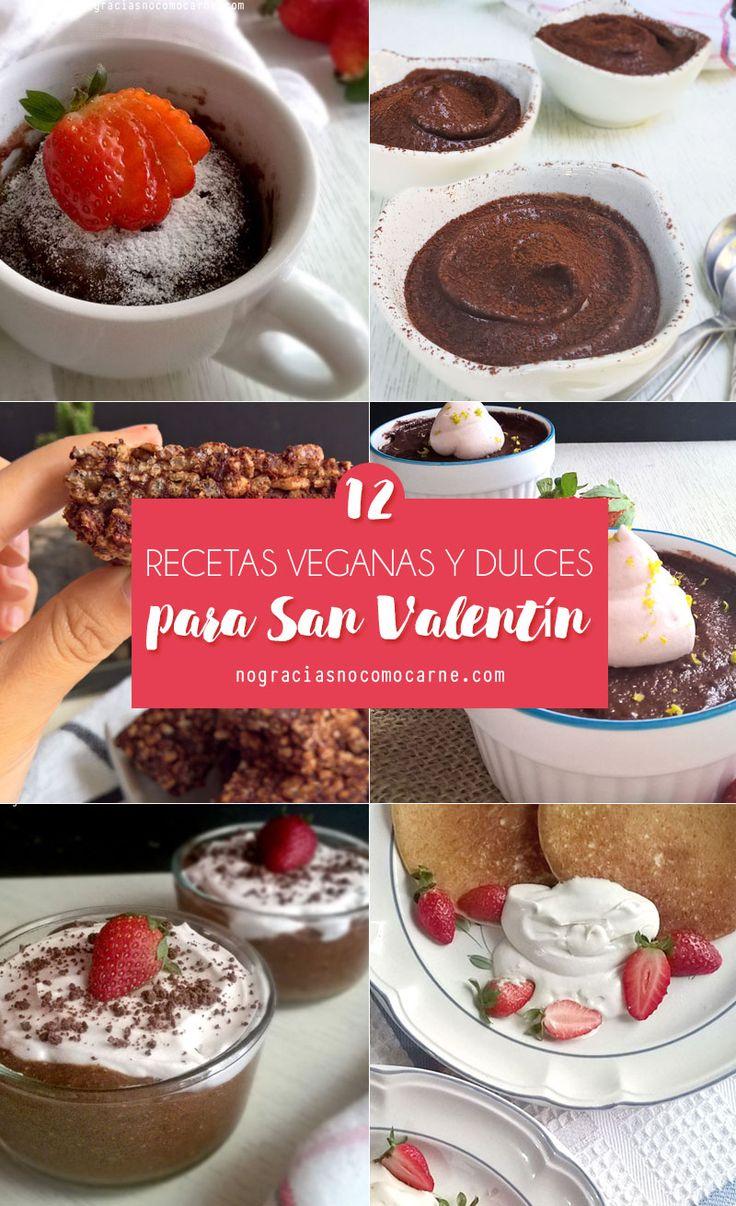 Recetas veganas y dulces para sorprender en San Valentín