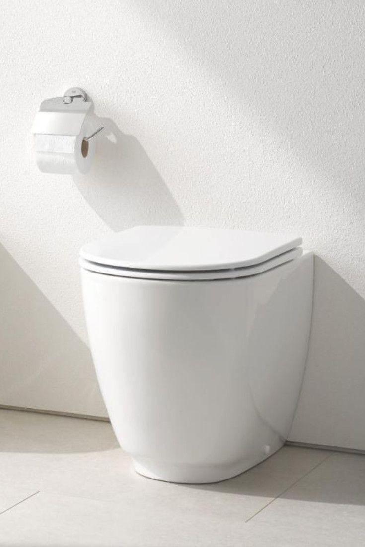 Grohe Essence Wie Zeitgemass Ein Stand Tiefspul Wc Sein Kann Zeigt Dieses Elegante Modell Ohne Spulrand Aus Der Badezimmer Innenausstattung Badezimmer Wc Sitz