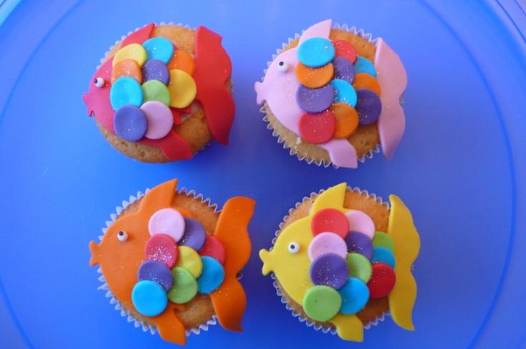 Cupcakejes vissen