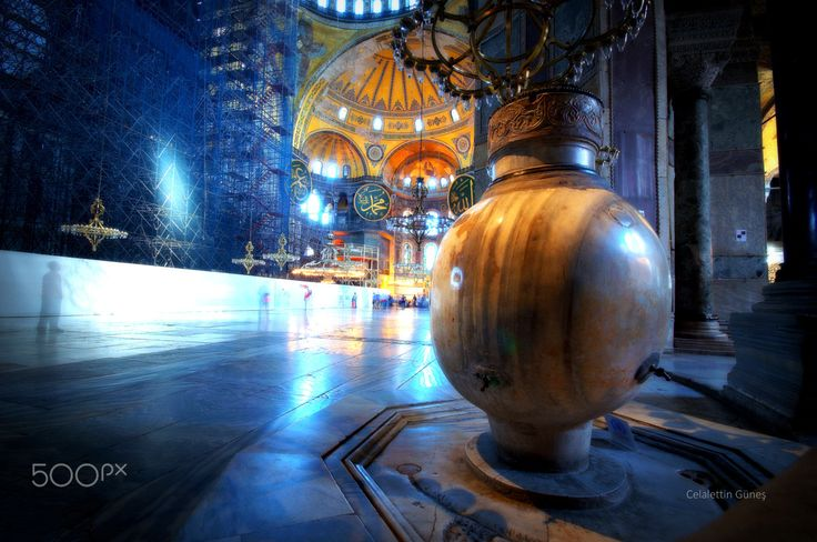 Shadows and  Hagia Sophia - Gölgeler ve Ayasofya