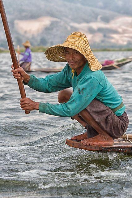 Fishing Inle Lake . Myanmar