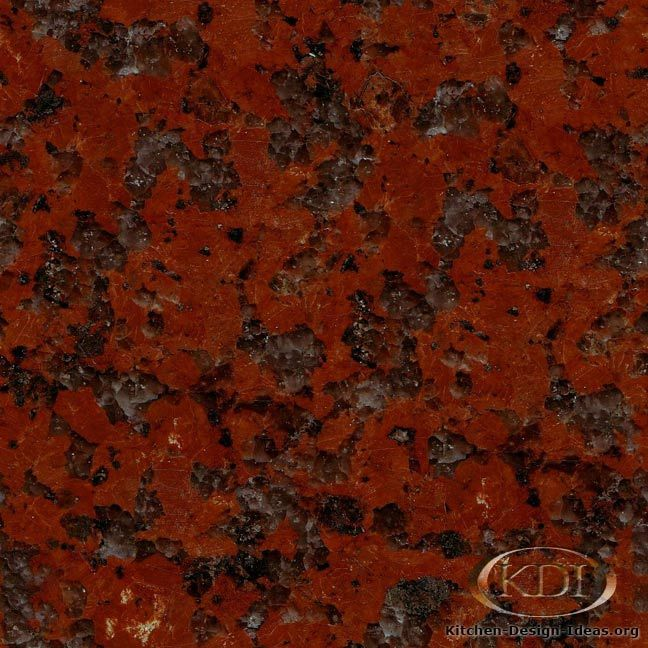 Red Marble Kitchen Countertops: African Red Granite - Kitchen Countertop