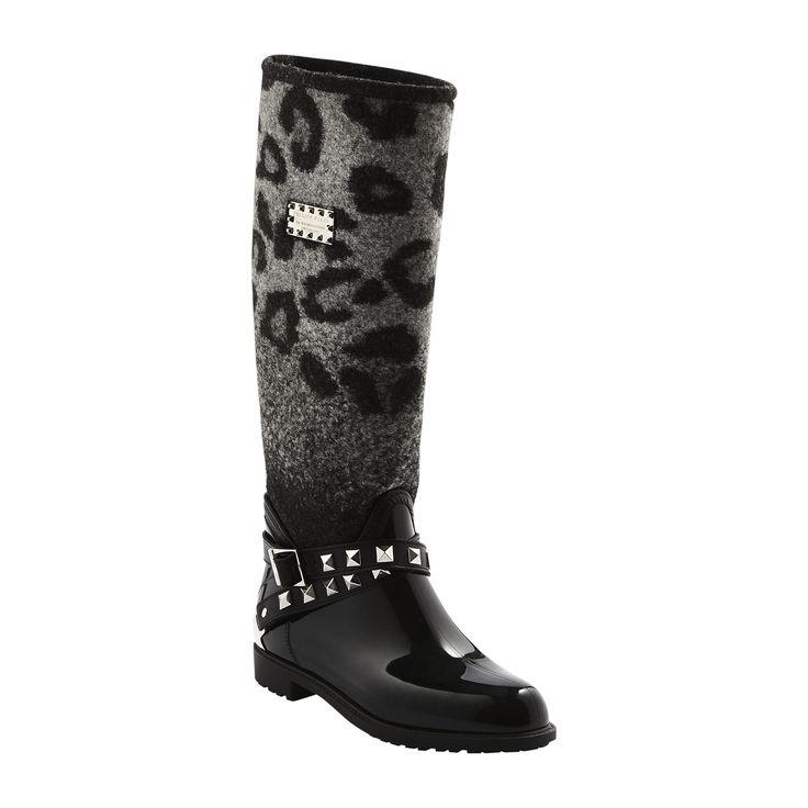 #philippplein #fallwinter2014 #fw2014 #shoes #boots #leather #leopardprint #studded