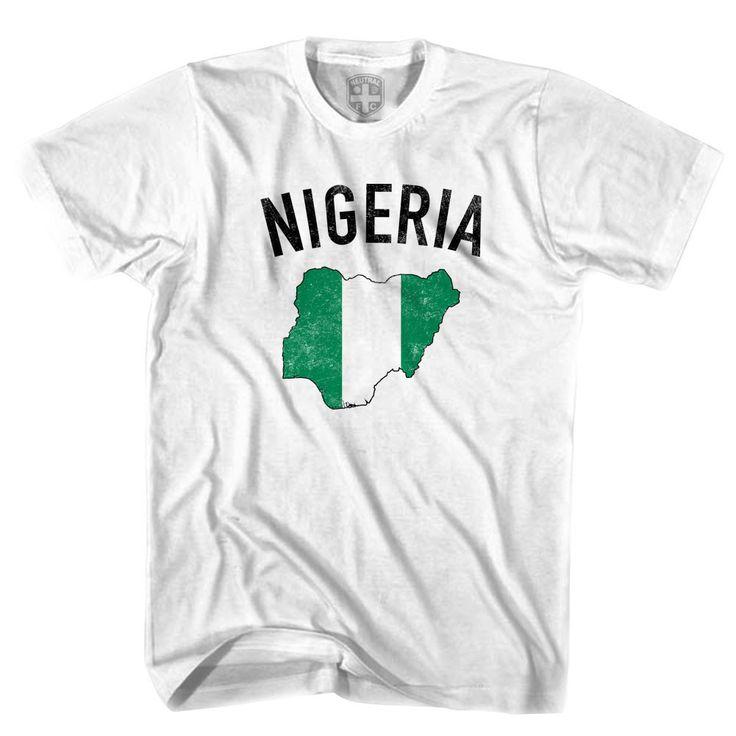 Nigeria Flag & Country T-shirt