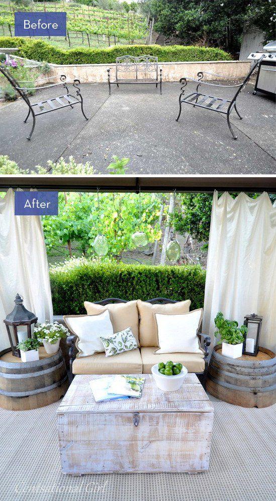 The 25 Best Backyard Makeover Ideas On Pinterest Diy 400 x 300