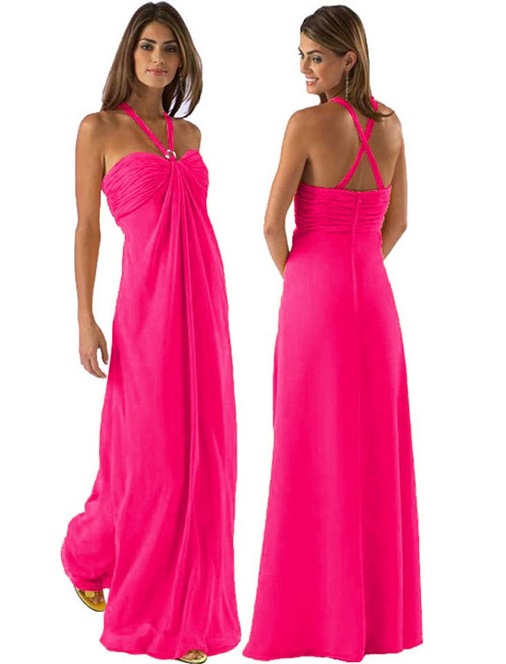 55 best Hot Pink dresses images on Pinterest | Bright pink ...