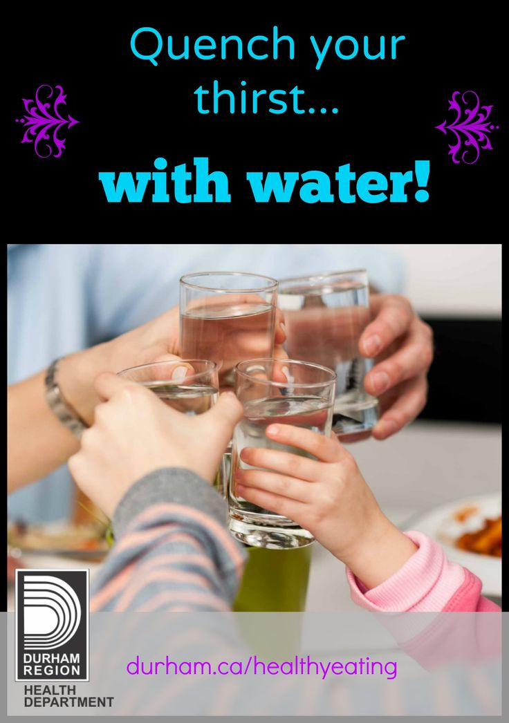 As the weather gets warmer, don't forget to choose water first! Try packing a reusable water bottle with your child's lunch. Remember that children are always watching and if you choose water, they will too.