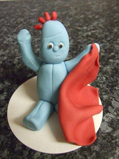 Iggle Piggle Cake cake topper