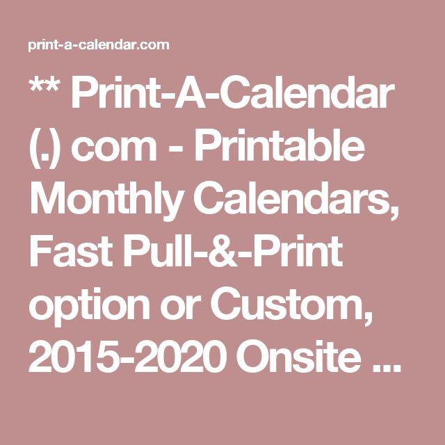 ... on Pinterest | Monthly Calendars, Kalender Vorlage and Wochenkalender