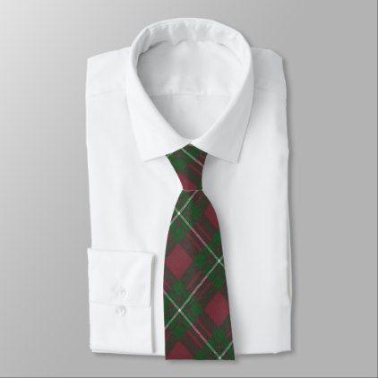 MacGregor Ancient Hunting  Scottish Clan Tartan Tie - accessories accessory gift idea stylish unique custom
