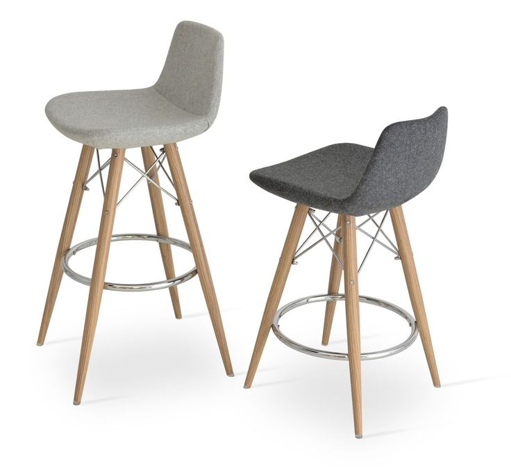 This steel frame molded by injecting polyurethane foam. upholstered with a removable velcro enclosed leatherette or wool fabric slip cover. The stool is suitable for both residential and commercial use and can be ordered as counter or bar stool. Stool are available with swivel seat options. 700 Kipling ave, Toronto Ontario Canada 🇨🇦