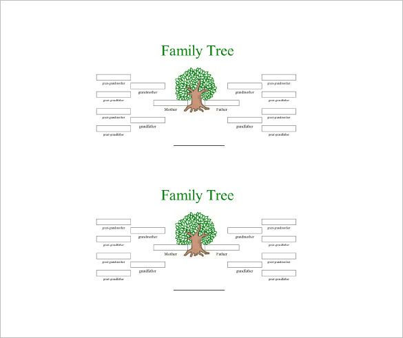 2021 best Genealogy History images on Pinterest Family tree - family tree chart template