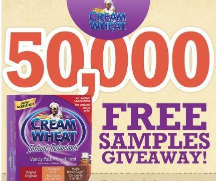 Go get your free sample on their Facebook Page Here https://www.facebook.com/CreamOfWheatCanada/app_452839698100103