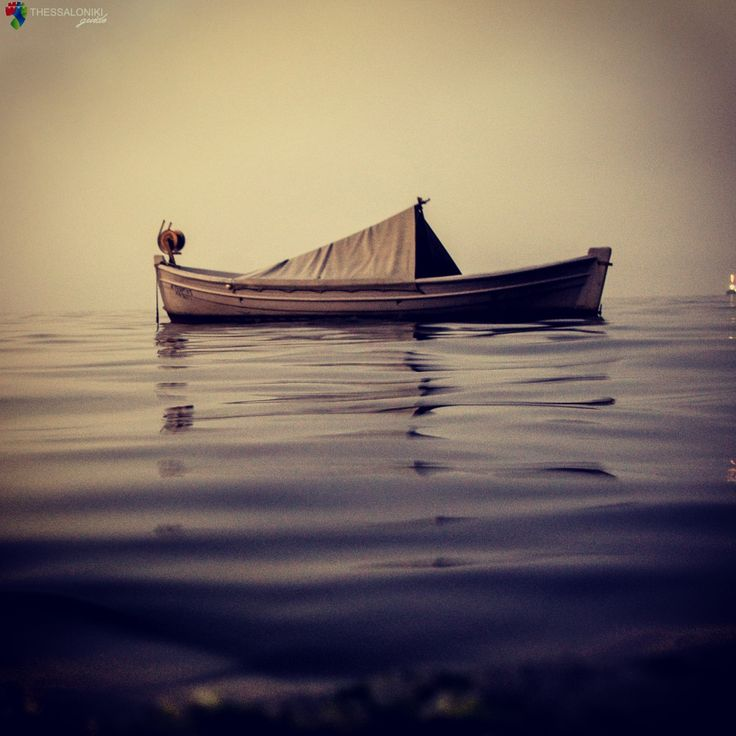 Βάρκα στον Θερμαϊκό