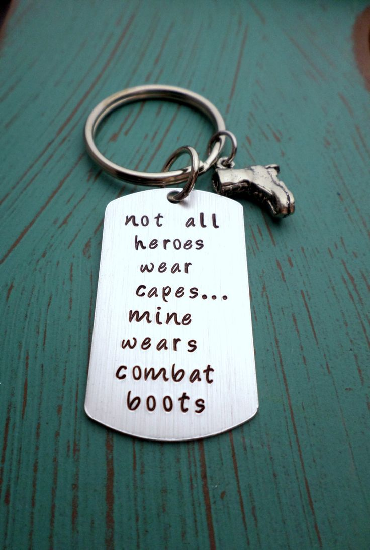 Combat Boots Keychain, Superhero, Military Wife, Military Girlfriend, Soldier Husband, Proud Wife, Girlfriend, Army, Marines, Airforce, Navy by HandmadeLoveStories on Etsy