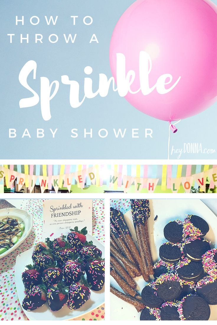 Planning a Simple Sprinkle Baby Shower with Free printable Baby Shower Scripture Cards and Decor