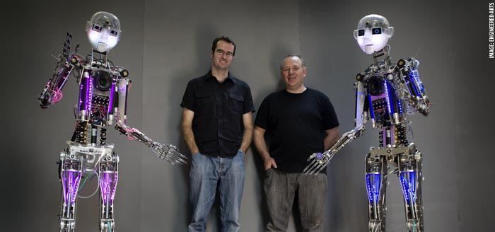 Vive Les Robots! case study: RoboThespian: A Charming British Humanoid Robot (2012): http://www.vivelesrobots-education.dk/english