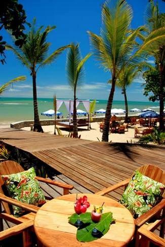 Praia de pitinga em Arraial d' Ajuda - Porto Seguro bahia Brasil.