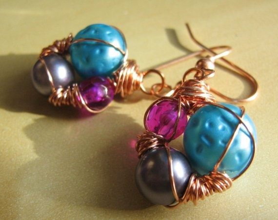 Stacie Earrings by LaneyStudios on Etsy, $23.00
