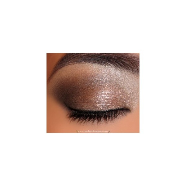 Urban Decay Naked Palette Look 1 ❤ liked on Polyvore
