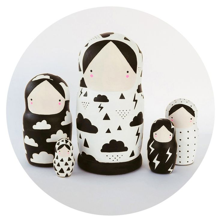 Weather Girls Nesting Dolls | Sketch.inc