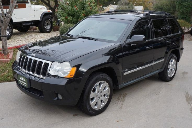 2008 Black Grand Cherokee Limited *Fully Loaded* Only