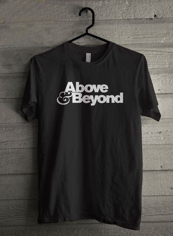ABOVE AND BEYOND TSHIRT TRANCE DANCE TECHNO