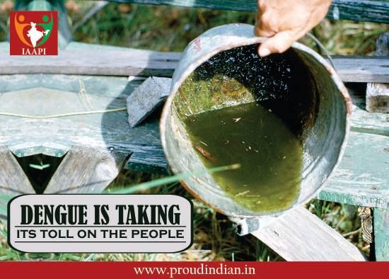 Dengue is taking its toll on the people. Avoid spreading garbage, leaving stagnant water or doing anything that promotes dengue. Save yourself and your family. #dengue #cleanliness #cleanindia #mosquito #proudindia #ngo