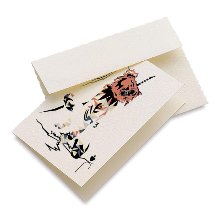 Ninja Koala Greeting Card