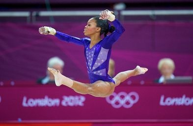 gabby douglas floor routine - photo #47