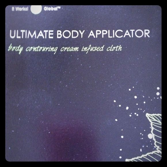 1 application of IT Works ultimate body applicator Body contouring cream infused cloth Other
